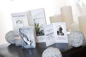 Trauerkarten, Foto: Bestattung Wolfsberg