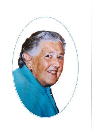 Portrait von Maria Rainer, geb. Perchthaler